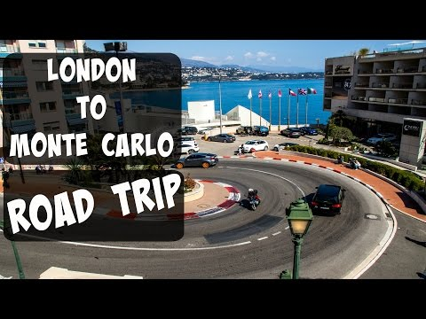 London to Monte Carlo - Drive with us!!