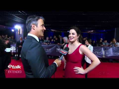 Canadian Screen Awards 2017: Erica Durance Red Carpet
