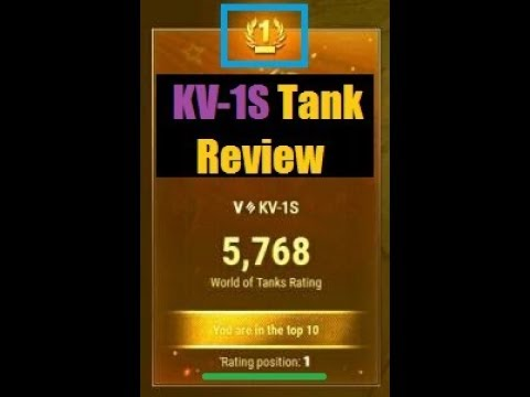 "KV-1S Tank Review 2017 ""The Support Heavy-Medium-Derp-DPM Machine"" [World of Tanks]"