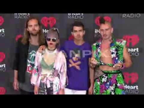 DNCE at the iHeartRadio Music Festival 2016 at the T-Mobile Arena in Las Vegas