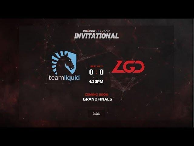Team Liquid vs LGD Gaming Game 1 (BO5) Grandfinals | Starladder iLeague Invitational Season 4