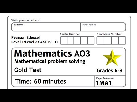 Grade 6-9 Revision (problem solving) | GCSE (9-1) Mathematics AO3 60 minute revision