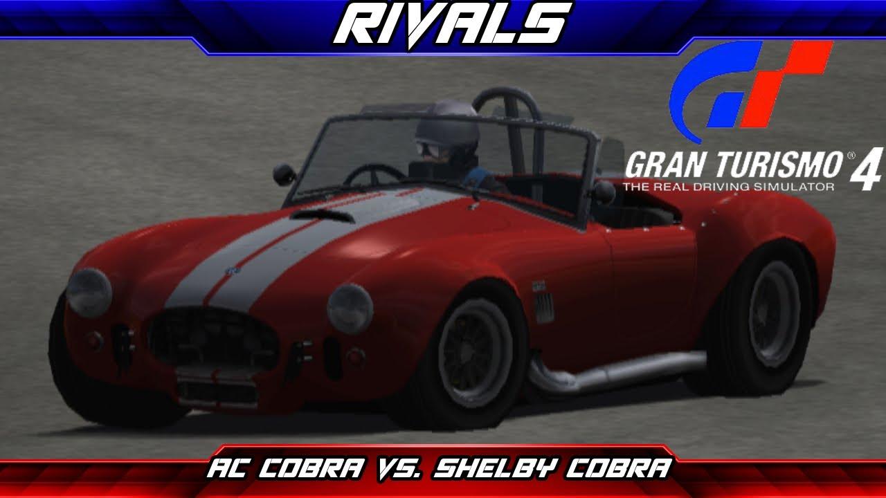 Rivals Episode  Ac Cobra Vs Shelby Cobra Gran Turismo