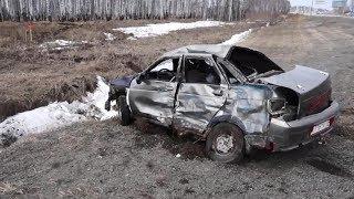 17-летний подросток угнал у бати ВАЗ 2110 и уходя от погони столкнулся с фурой