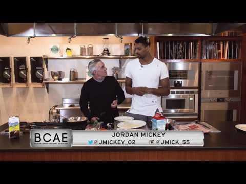 Dining Playbook: Training Camp: Jordan Mickey