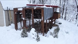 Backyard Chickens - Chicken Coop Upgrades And Winterization