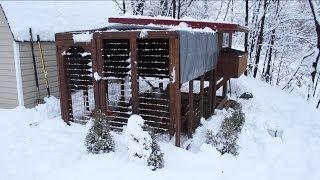 Backyard Chickens - Chicken Coop Upgrades And Winterization