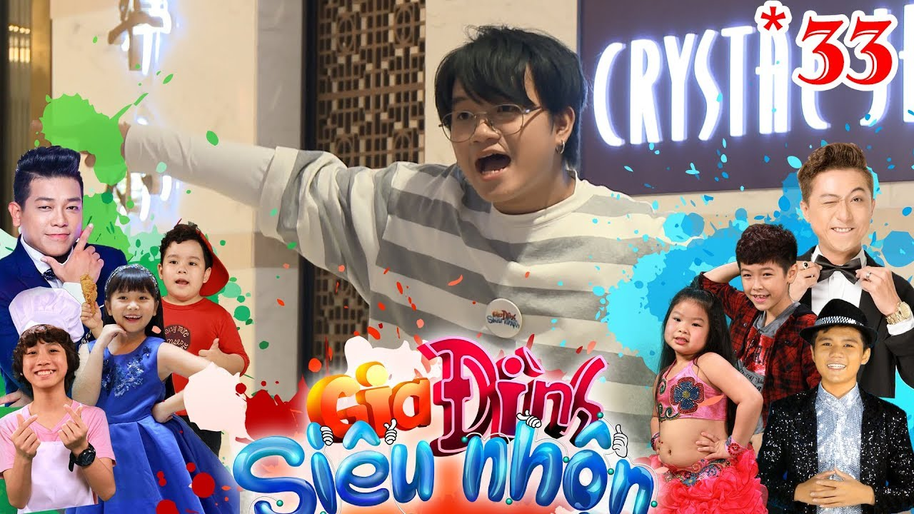 GIA ĐÌNH SIÊU NHỘN | GDSN #33 FULL | Thanh Tân ngạc nhiên vi Hoàng Long 'chiêu trò' không thua mình