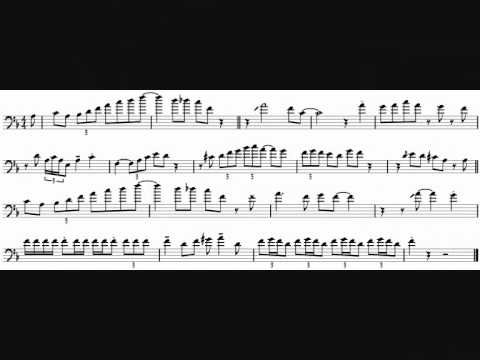 Frank Rosolino 'Prologue' Trombone Solo Transcription