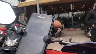 베트남 호치민 대학마을로 오토바이 드라이브