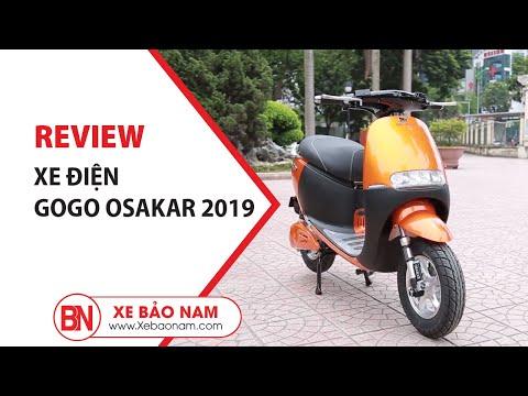 Xe điện Gogo Osakar 2019 Xe Máy điện Thời Trang đẹp Nhất Giá Tốt Nhất Thị Trường