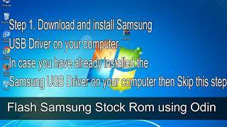 How to Samsung Galaxy Tab 10 1 3G GT P7500 Firmware Update (Fix ROM)