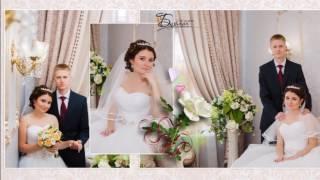Примеры свадебных фотокниг.