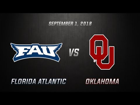 Oklahoma Sooner Highlights vs Florida Atlantic Owls | 9-1-18