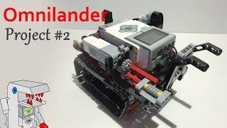 Omnilander - Project #2 from Building Smart LEGO MINDSTORMS EV3 Robots