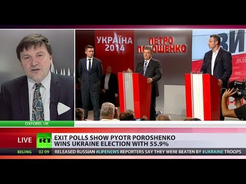 'Poroshenko has tough road ahead after winning Ukrainian election'