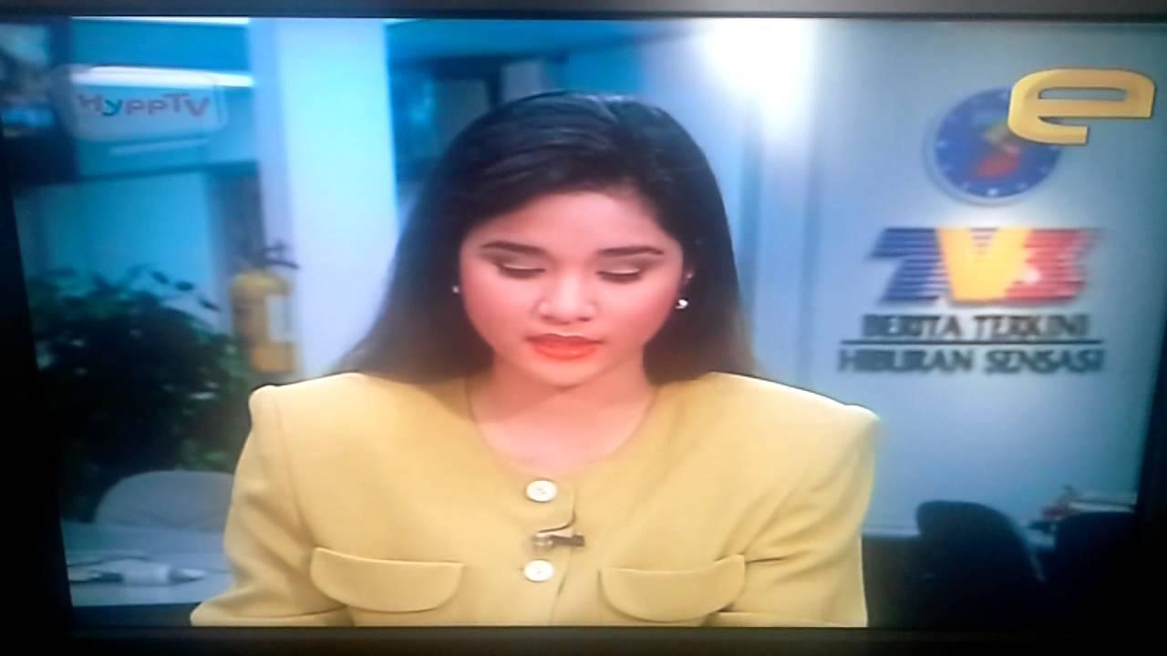 Old TV3 Berita Terkini as seen on Majalah 3 1994 - YouTube