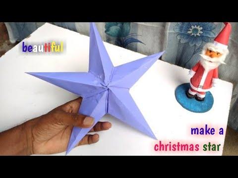 paper star, how to make simple paper star, diy how to make star lantern, pemmadi nagaraju