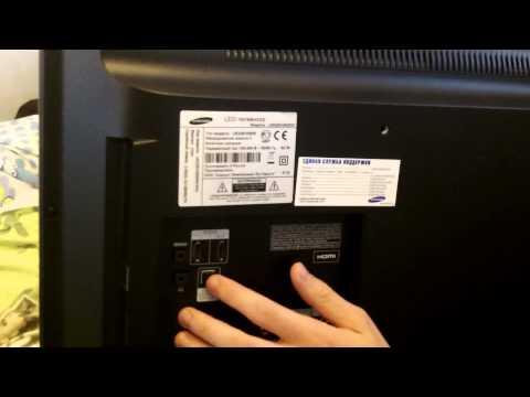 видео: обзор телевизора samsung 32