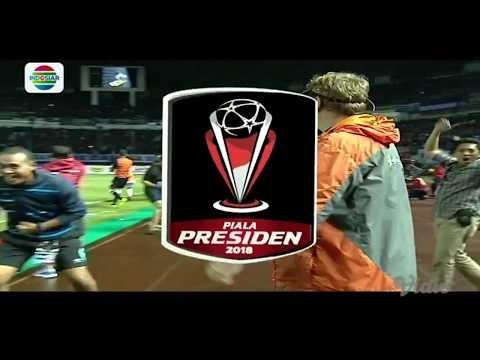 Piala Presiden 2018: PERSIB BANDUNG (0) VS PSM MAKASSAR (1) - Highlight Peluang dan Gol
