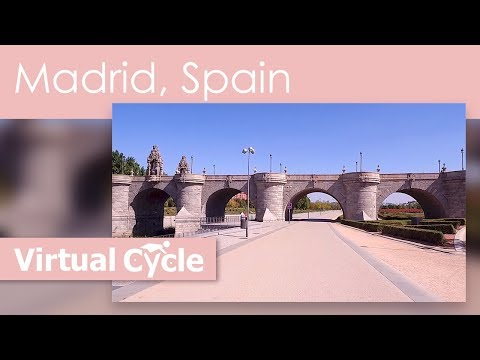 Virtual Travel Run in Madrid, Spain - See all the Sights while staying in Shape