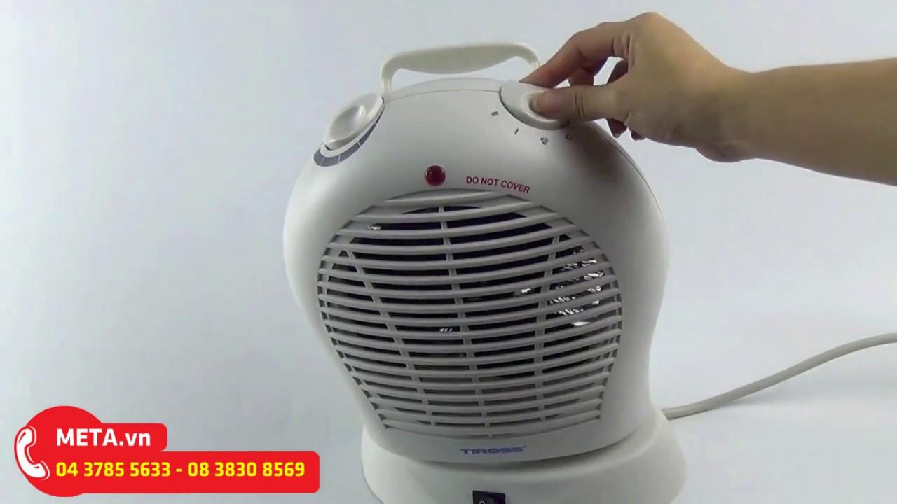 Giới thiệu và cách sử dụng quạt sưởi 2 chiều Tiross TS944