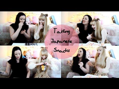 Irish Girls try Japanese Snacks!   Toxic Tears