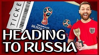 MY RUSSIA WORLD CUP 2018 TRIP STARTS NOW!