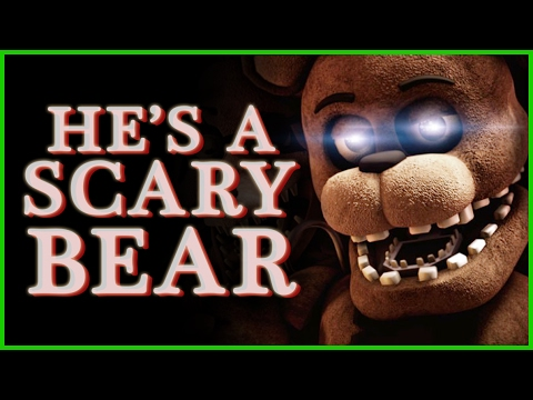 "FNAF SONG | ""He's a Scary Bear"" ► Performed by Caleb Hyles [SFM music video]"