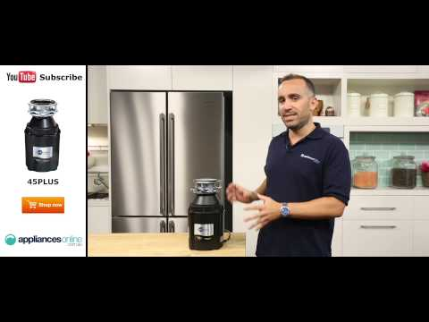 InSinkErator Food Waste Disposer 45PLUS reviewed by expert - Appliances Online