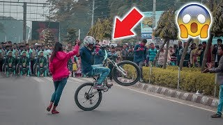 Amazing Stunt Show | Birthday special Stunt Show|Bicycle Extreme Sports| MTB Stunt Show At Jhenaidah