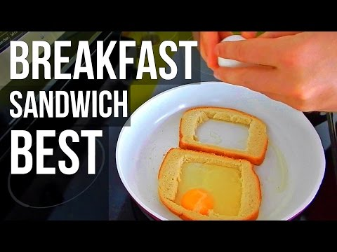 BEST BREAKFAST SANDWICH (How T Make, Easy Recipe)