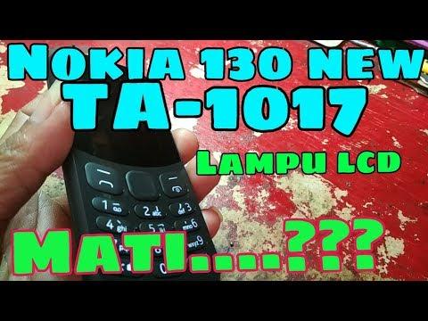 solusi-nokia-130-new-ta-1017-lampu-lcd-mati-||-nokia-130-terbaru-2017-||