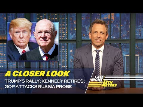 Trump's Rally; Kennedy Retires; GOP Attacks Russia Probe: A Closer Look