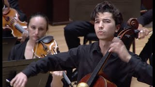 Sphinx Competition 2020 First Prize, Gabriel Martins plays Elgar Cello Concerto, Mvt. IV
