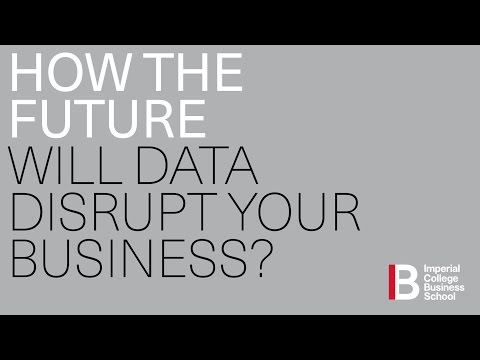 HOW THE FUTURE WILL DATA DISRUPT YOUR BUSINESS?