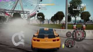 Need For Speed Shift 2 Unleashed Transformer 3 Camaro SS Drift and Race Gameplay