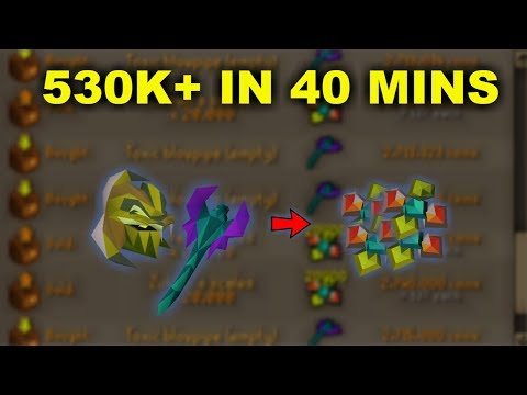 OSRS - How I Made 530K+ In 40 Mins! Oldschool Runescape Money Making Guide