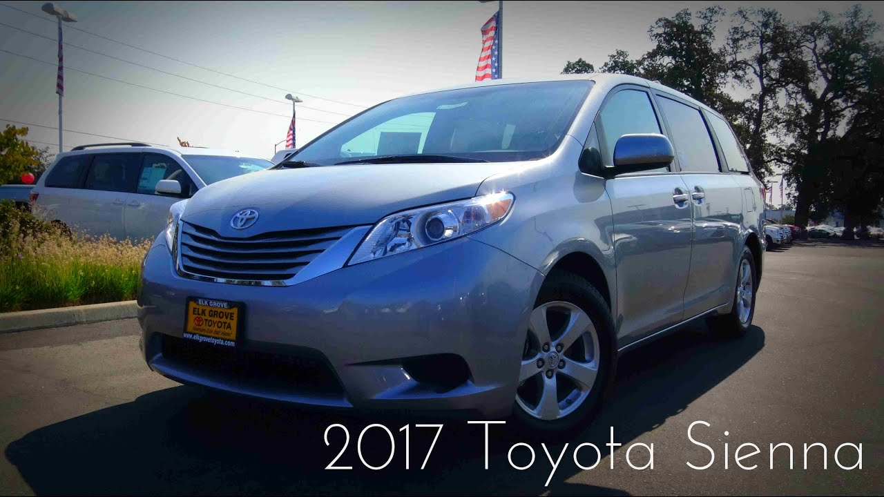 2017 toyota sienna le 3 5 l v6 review youtube. Black Bedroom Furniture Sets. Home Design Ideas