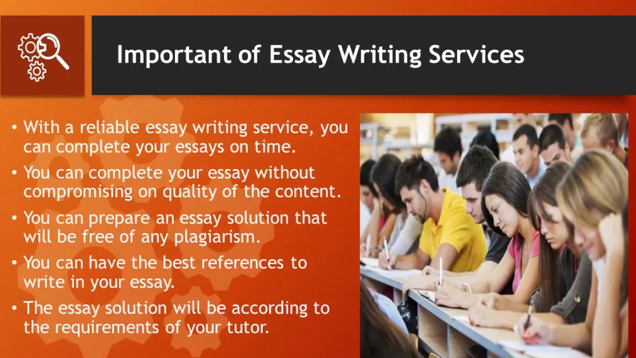 most reliable essay writing service