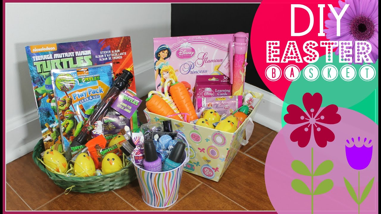 Easter basket ideas youtube easter basket ideas negle Images