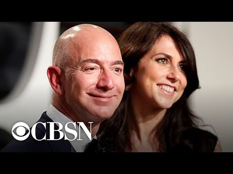 Amazon CEO Jeff Bezos and wife announce divorce
