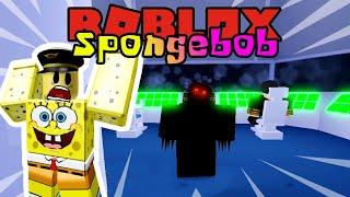 SPONGEBOB RIDE THE HAUNTED PLANE!! 👻-ROBLOX Spongebob United Kingdom