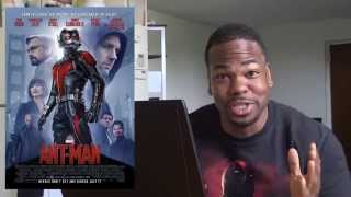 ANT-MAN MOVIE REVIEW!!!
