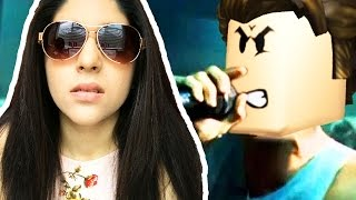 REACTING TO ROBLOX RAP SONGS!