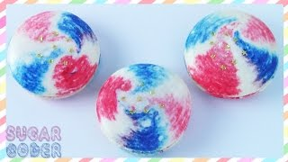 Fourth Of July Macarons - By Sugarcoder