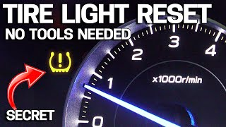 WHY Your Tire Light is ON & EASY FIX