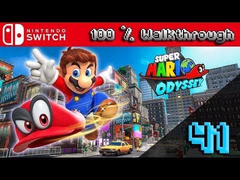 Super Mario Odyssey - 100% Walkthrough Part 41 (100% Guide, All Collectibles & All Unlockables)