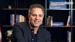 Mark Ruffalo Endorses Bernie Sanders for President