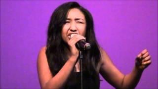 "Haben Abraham singing ""Better Off Alone"" by Katharine Mcphee"